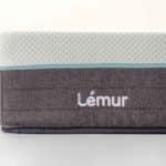 colchón de matrimonio telina detalle logo lateral lemur baby