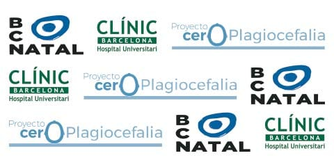 logos bcn natal clinic de barcelona y proyecto cero plagiocefalia