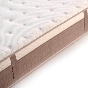 colchón de matrimonio amana detalle téxtil lemur baby