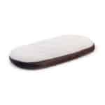 colchón de minicuna para moisés kibo ovalado