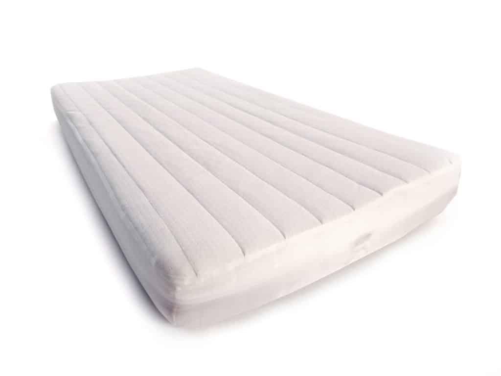 funda de colchón de cuna algodón orgánico equina lémur baby